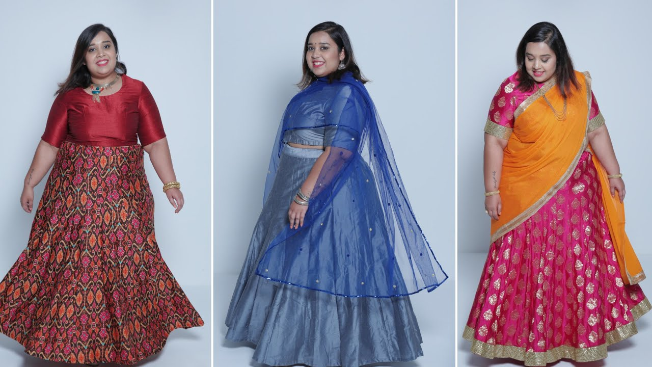 How To Style Lehengas Plus Size Fashion Series By Prerna