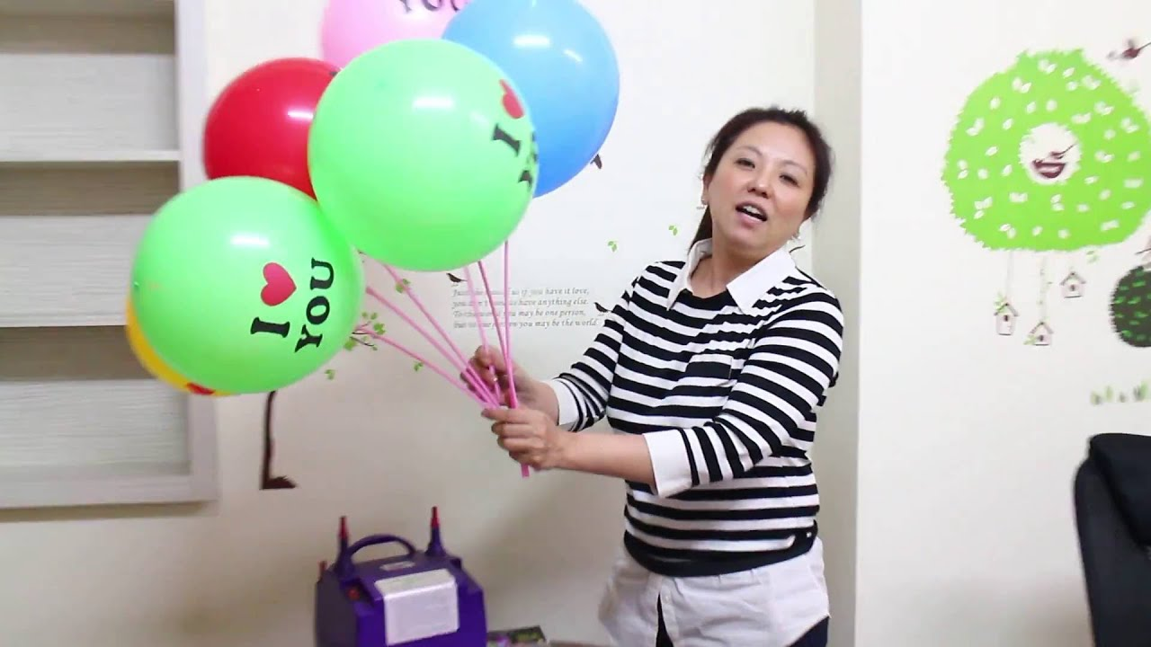 LED發光氣球 DIY教學 - YouTube