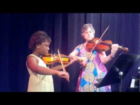 P and Leticias Violin recital May 12