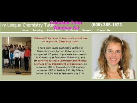 Advanced High School Chemistry and Physics Tutor from Princeton NJ 609-388-1823