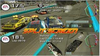 NASCAR 08 Multiplayer Split Screen