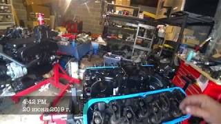 080 - Моторы и ремонт катера для клиента часть 1