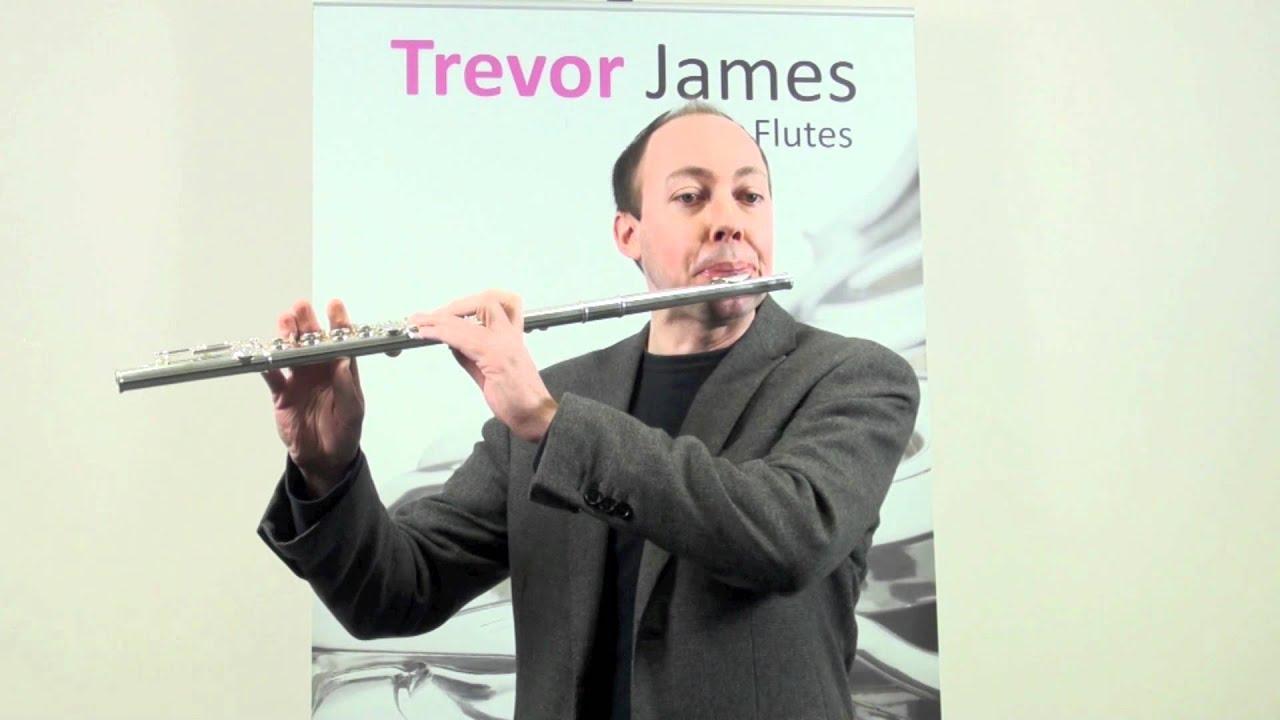 Ongekend Trevor James Cantabile flute - YouTube AE-94