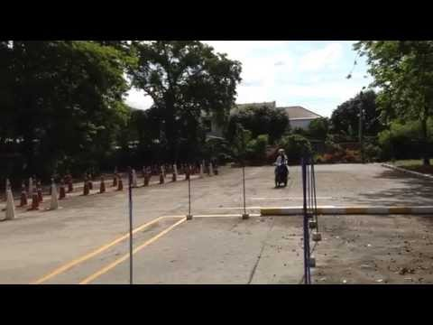 สอบใบขับขี่รถมอเตอร์ไซด์ ขนส่งพระโขนง กรุงเทพฯ