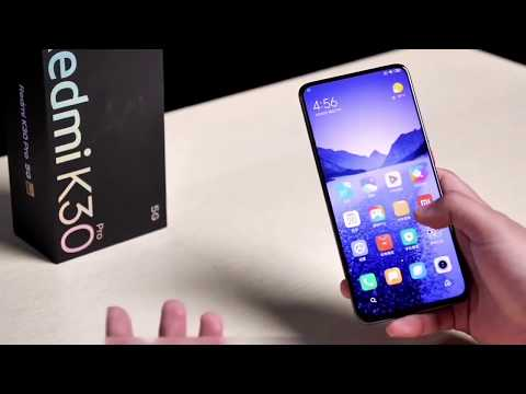 Xiaomi Redmi K30 Pro Zoom unboxing