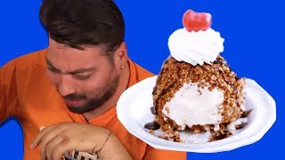 Kızarmış Dondurma Yaptık - Tadı Nasıl Oldu?