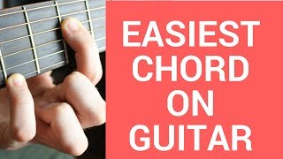 the easiest (and most musical) chord on guitar