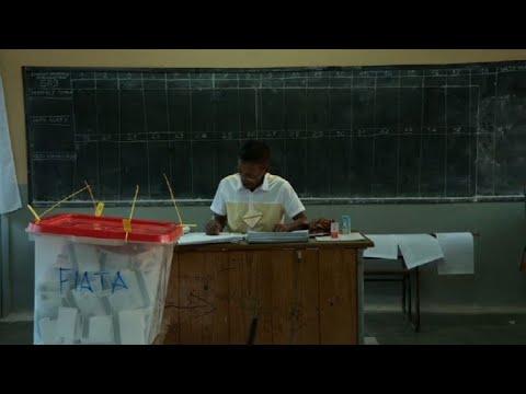 Election à madagascar: fermeture des bureaux de vote youtube