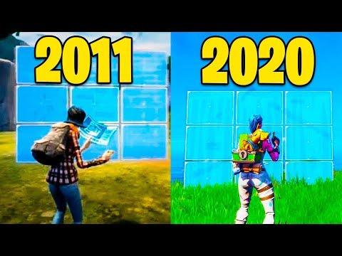 Evolução Do Fortnite 2011-2020