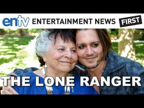Johnny Depp Officially Joins Indian Tribe: Lone Ranger Actor Joins The Commanche Tribe: ENTV
