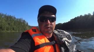 река  Амгунь. Сплав и рыбалка на горной реке.