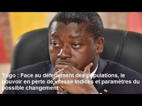 Togo : Face au déferlement des populations, le pouvoir pert de vitesse  et paramètres du changement