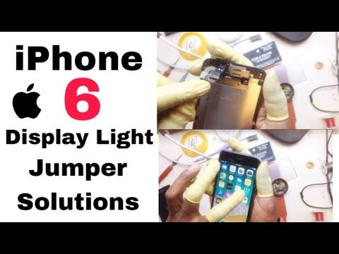 iPhone 6 Display Light Jumper Solutions