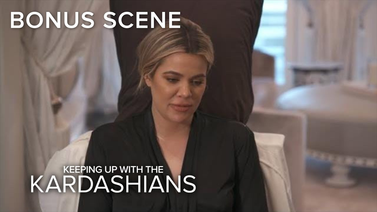 KUWTK | Khloé Kardashian Gets a Cast Made of Her Pregnant Belly | E!