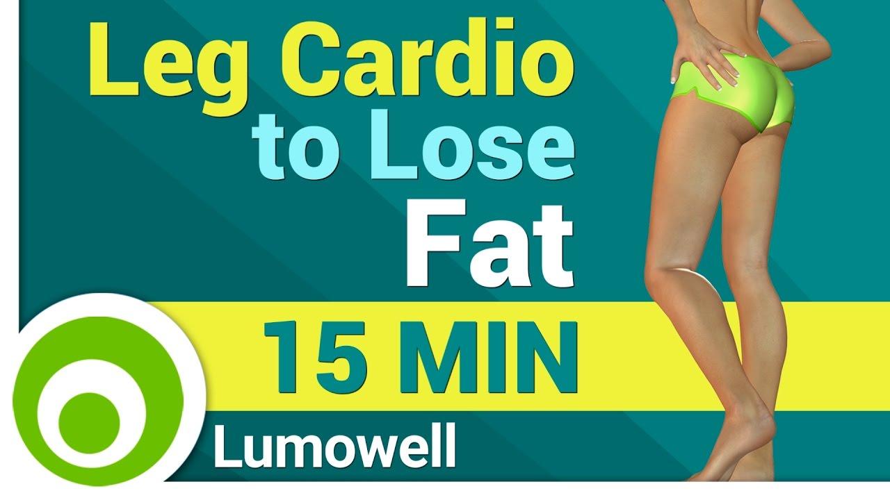 Leg Cardio Workout to Lose Leg Fat - YouTube