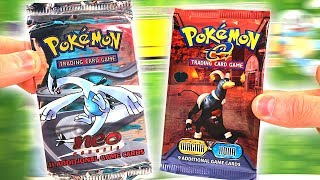 Opening EXTREMELY Rare VINTAGE POKEMON CARDS PACKS! (EX PULL!)