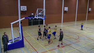 17 march 2018 Almere Pioneers U22 vs Rivertrotters U22 70-67 3rd period missing middle piece