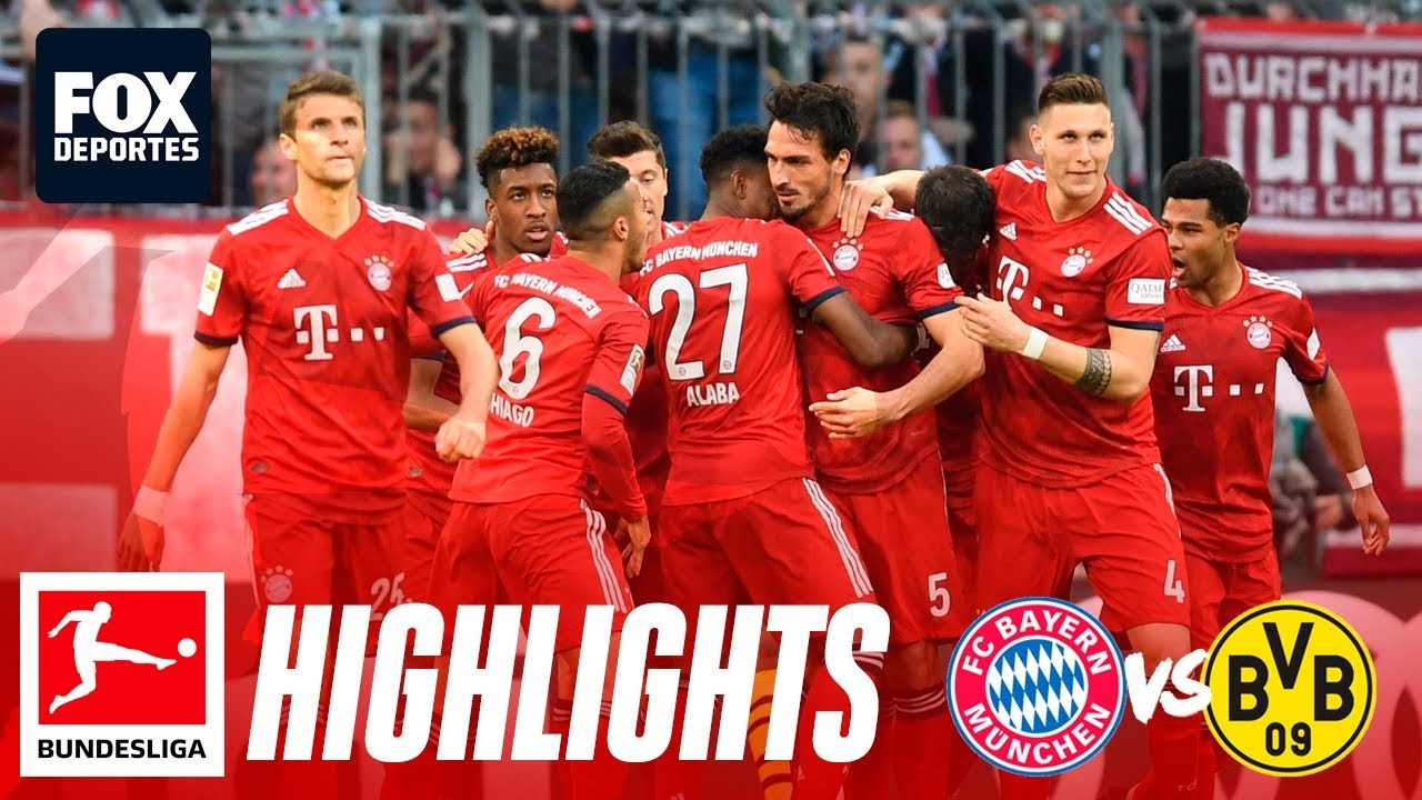 Bayern Dortmund Highlights 5 0