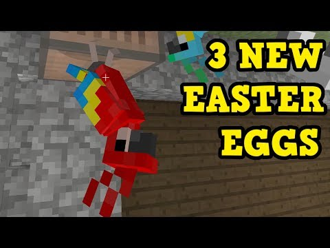 Minecraft Xbox 360 / PS3 - 3 NEW EASTER EGGS in TU54