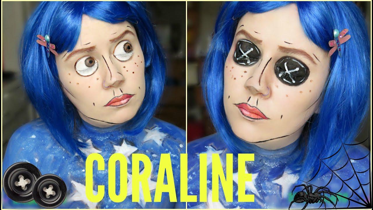 Coraline Jones Button Eyes Youtube
