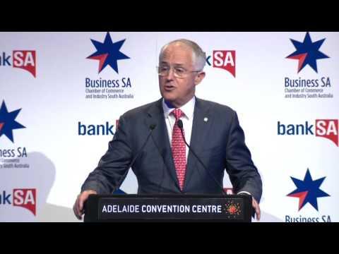 The Hon Malcolm Turnbull MP, Prime Minister of Australia - Full Speech - Back to Business 2016