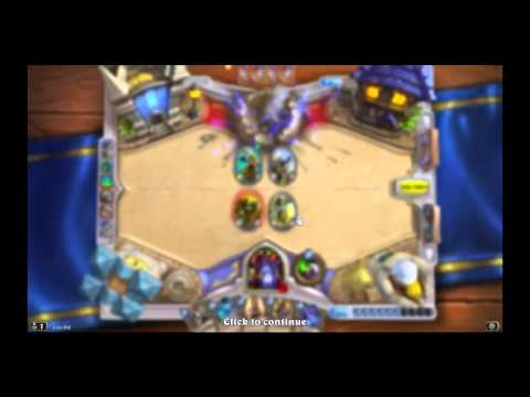 Hearthstone arena - The Grand Tournament Warlock #1 (MEDICIN