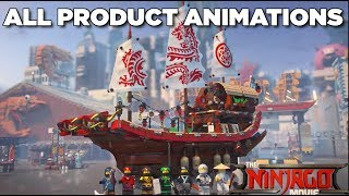 All Lego Ninjago Movie Product Animations (HD)