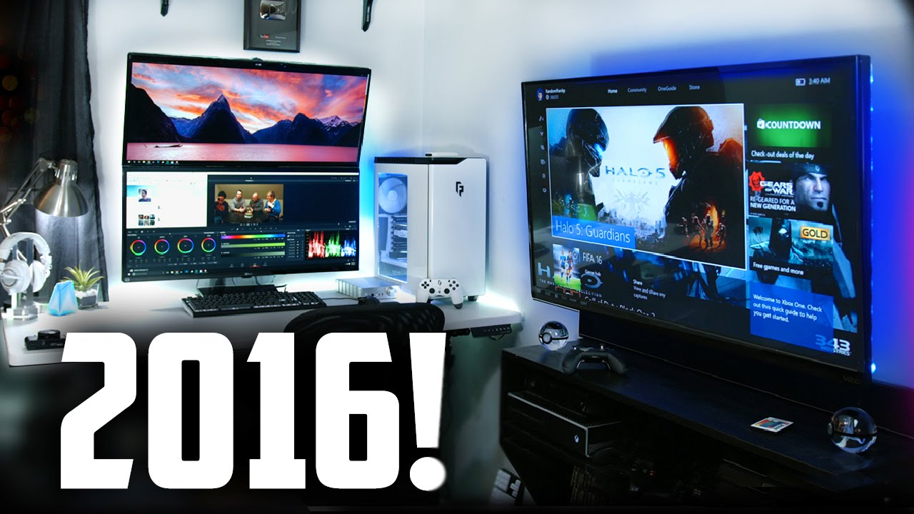 Ultimate Gaming Room My 2016 ULTIMAT...