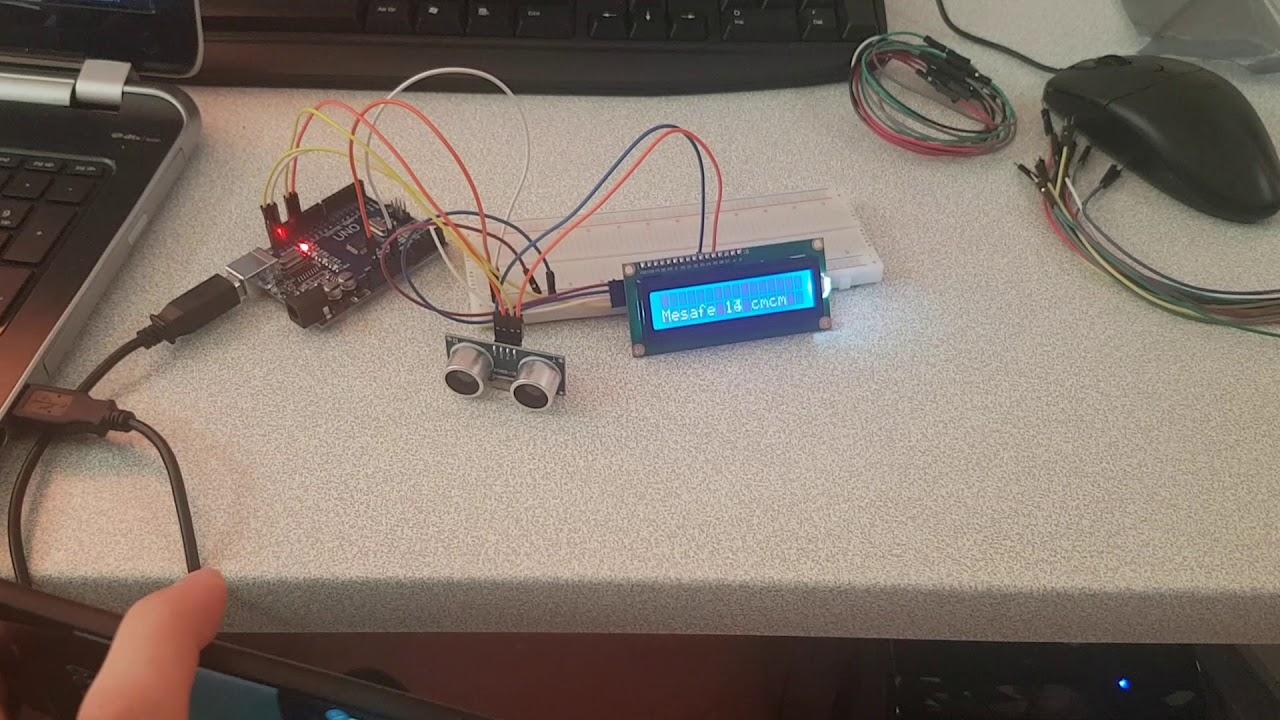Arduino ile dijital metre yapımı.