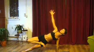 yoga flow sequence (Repeat the sequence on the other side) with Renata Coznici