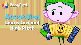 Accordion | Notekins | Music Videos | BabyFirst TV