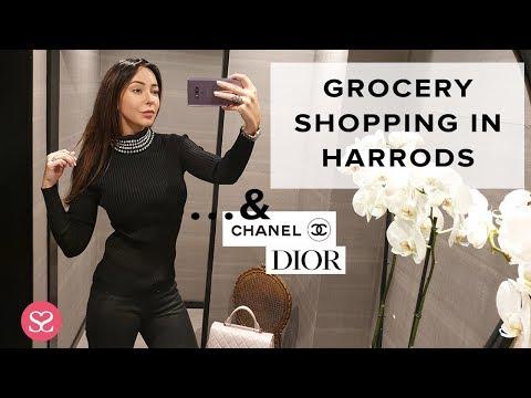 GROCERY SHOPPING IN HARRODS | Sophie Shohet