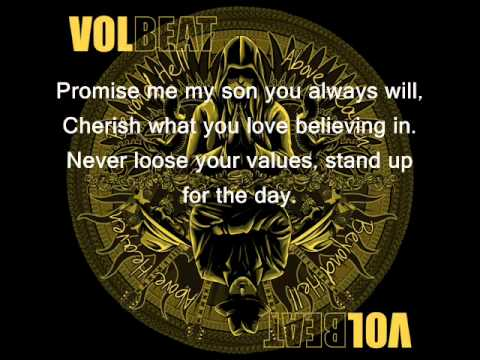 volbeat - fallen (with lyrics)