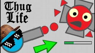 Diep.io THUG LIFE COMPILATION !! TOP FUNNIEST MOMENTS FT WORMATE.IO ANGRY WORM VS 99 WORMS