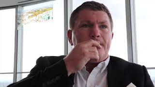 YOU WOULDN'T TEACH A 12-YR OLD NOVICE TO ATTACK LIKE WILDER - RICKY HATTON HONEST ON FURY'S CHANCES