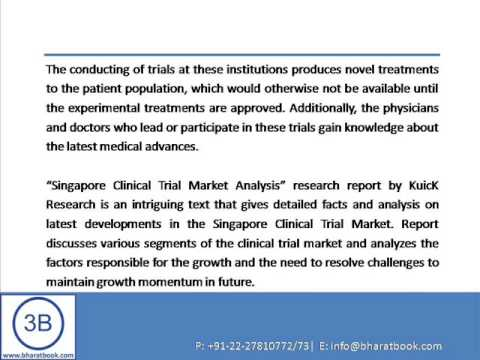 Bharat Book Presents : Singapore Clinical Trial Market Analysis