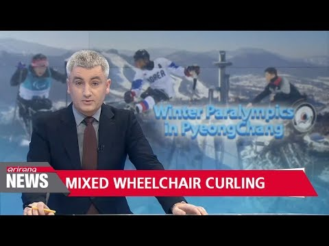 South Korean mixed wheelchair curling team closes in on semi-finals