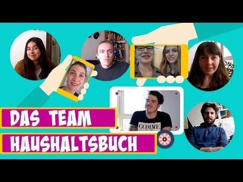 Haushaltsbuch - Das Team