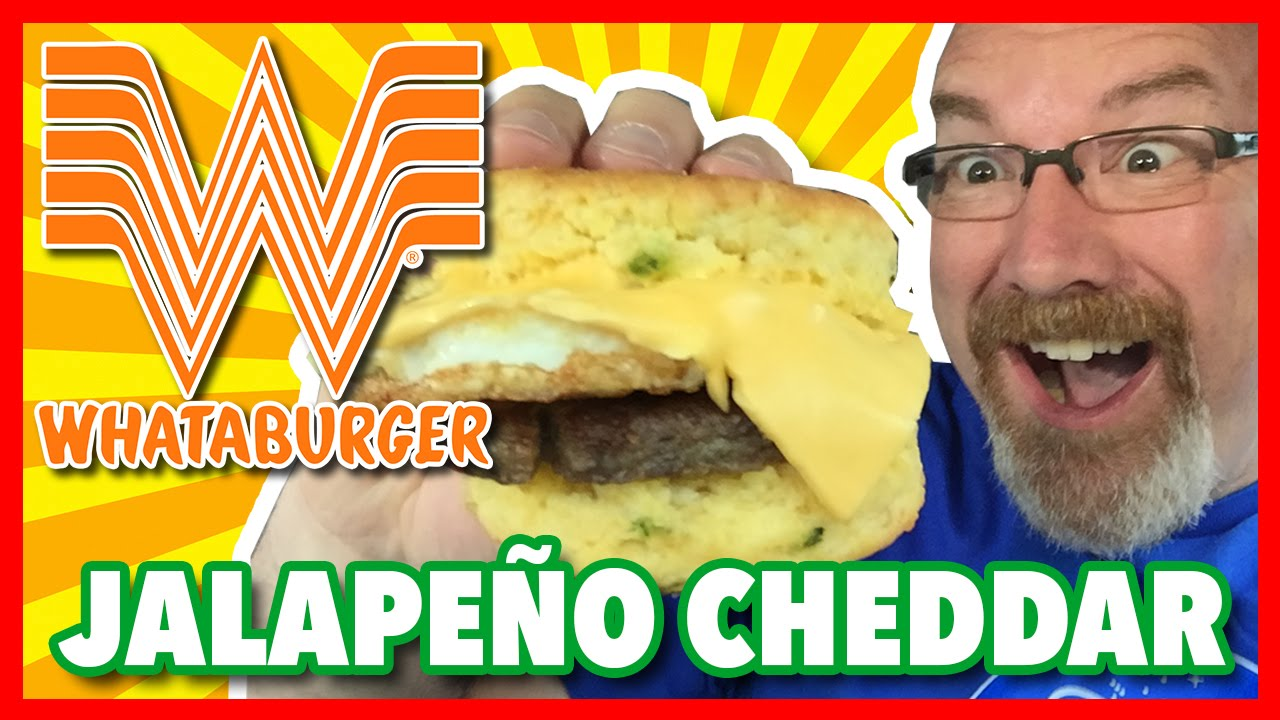 Whataburger Jalapeños Cheddar Biscuit Review