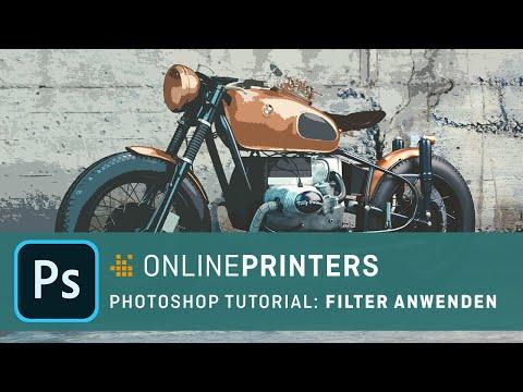 Photoshop-Filter Und Ihre Anwendung – Basics Tutorial