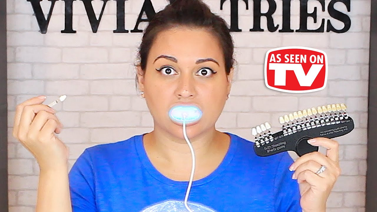 New Teeth Whitening 3 Shades in 20 Minutes - Vivian Tries