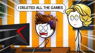 When Mom Deletes All the Games
