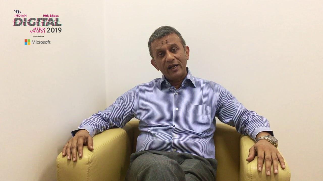 Sameer Garde- President Cisco India & SAARC (Jury Member for Indian Digital Media Awards 2019)