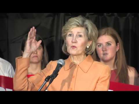 Kay Bailey Hutchison Announces Run for Governor