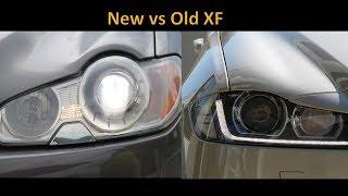 Driving Review - New Jaguar XF vs Old Jaguar XF