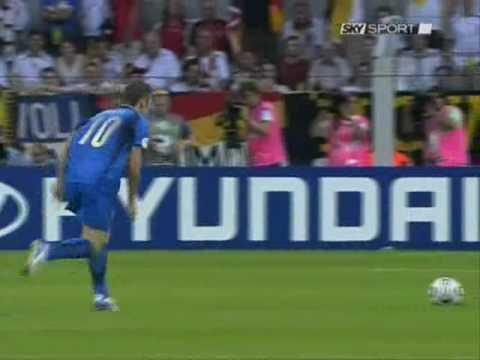 Francesco Totti Con La Nazionale d'Italia