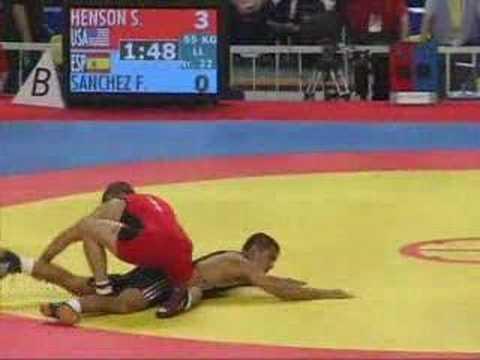 Sammie Henson 2006 world championships wrestling china