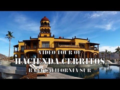 Video Tour of Hacienda Cerritos, Boutique Hotel near Cabo San Lucas