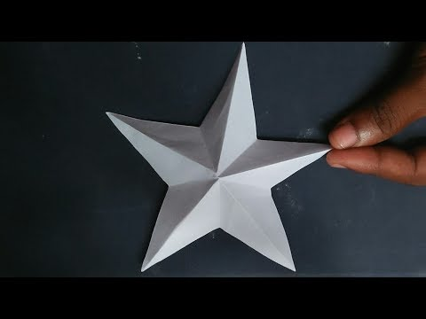 Awesome Paper Crafts Make A Beautiful Star Easily In A Moment Youtube