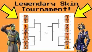 LEGENDARY SKIN RANKING -TOURNAMENTMD Fortnite Battle Royale! (Groupe A)